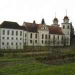 monastery and garden
